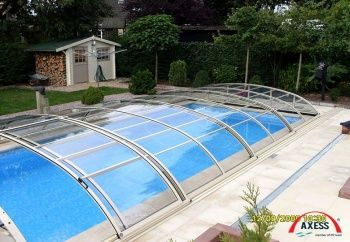 Zwembad overkapping aquaplezier bv for Inbouw zwembad compleet